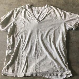 Diesel distressed v-neck T-shirt
